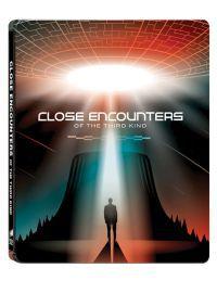Harmadik típusú találkozások - 40 éves jubileumi, limitált, fémdobozos változat  (steelbook) (Close  Blu-ray + 4K Blu-ray
