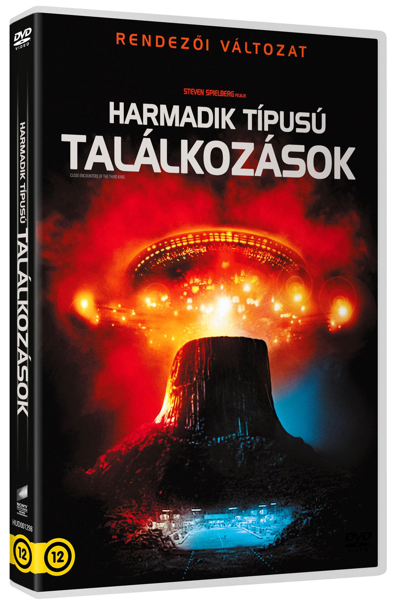 Harmadik t�pus� tal�lkoz�sok (rendez�i v�ltozat) DVD