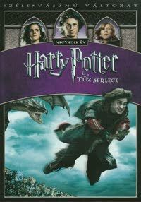 Harry Potter és a Tűz Serlege DVD