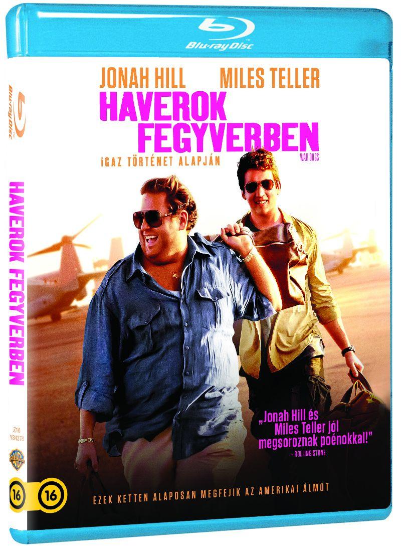 Haverok fegyverben Blu-ray