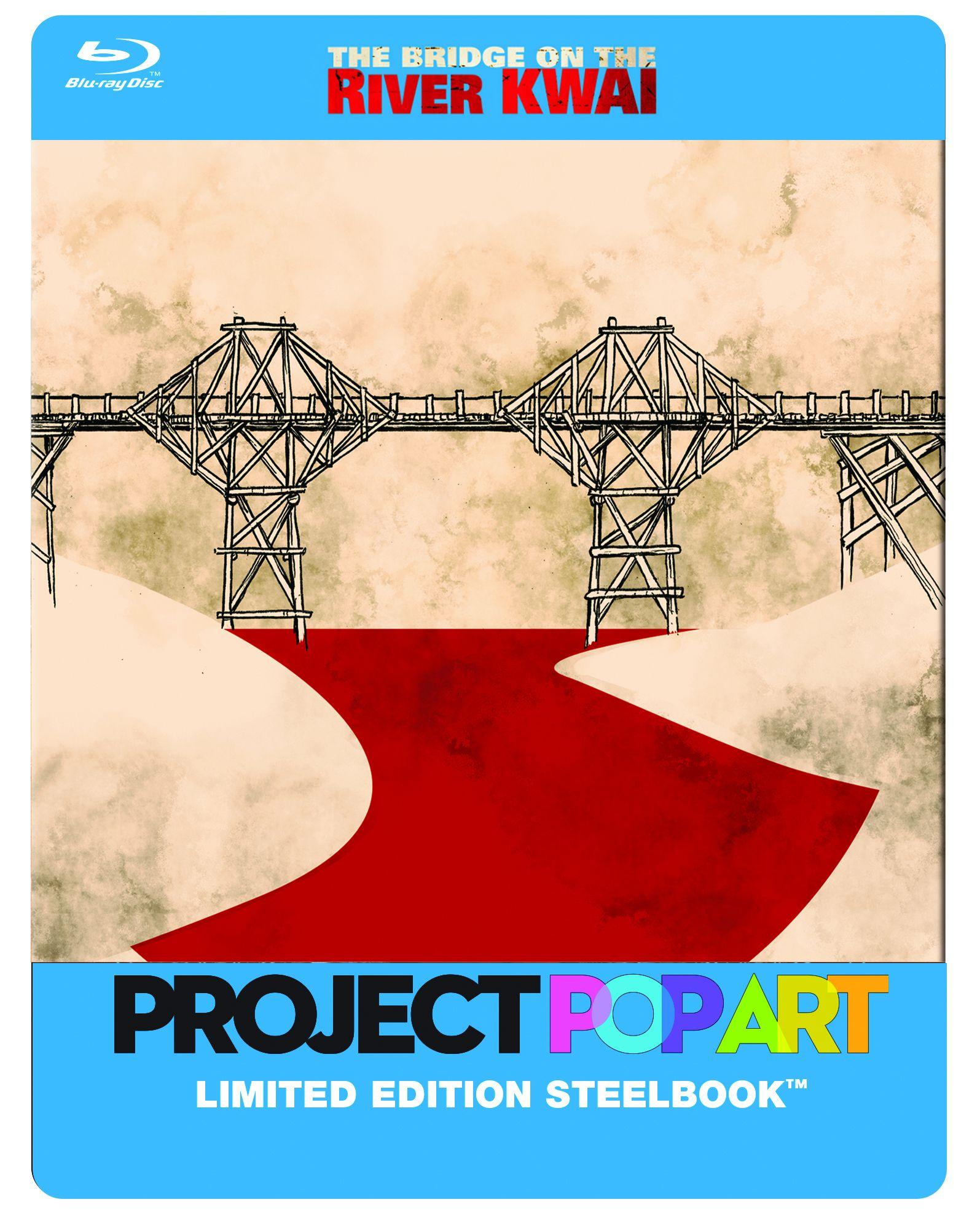 Híd a Kwai folyón - Limitált POP ART fémdobozos kiadás Blu-ray