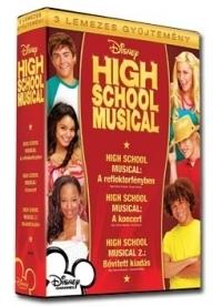 High School Musical gyűjtemény (3 DVD) Díszdobozos DVD