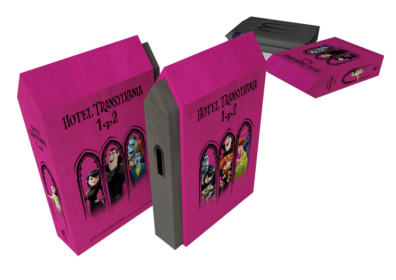 Hotel Transylvania 1-2. (2 DVD) - Hotel díszdoboz DVD