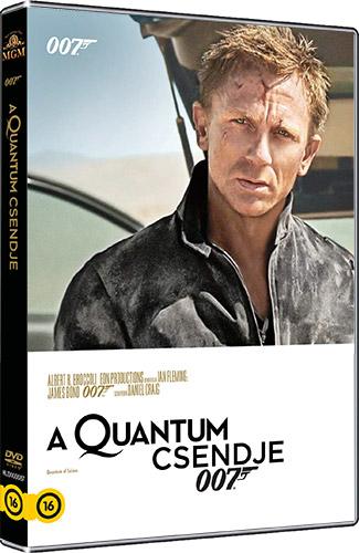 James Bond - A Quantum csendje DVD