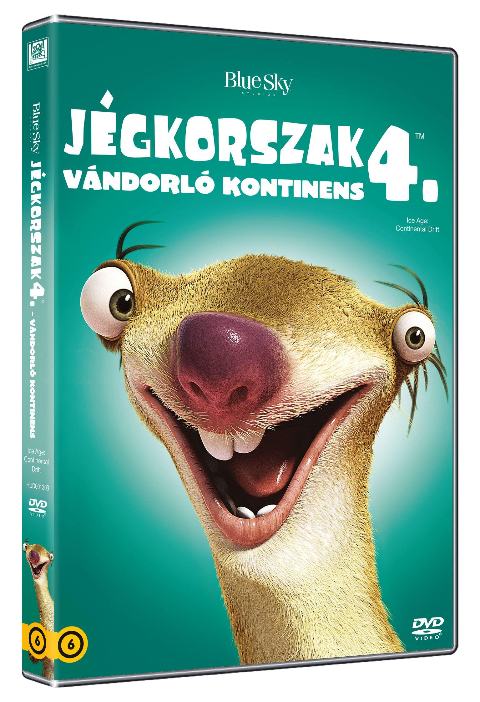 Jégkorszak 4. - Vándorló kontinens DVD