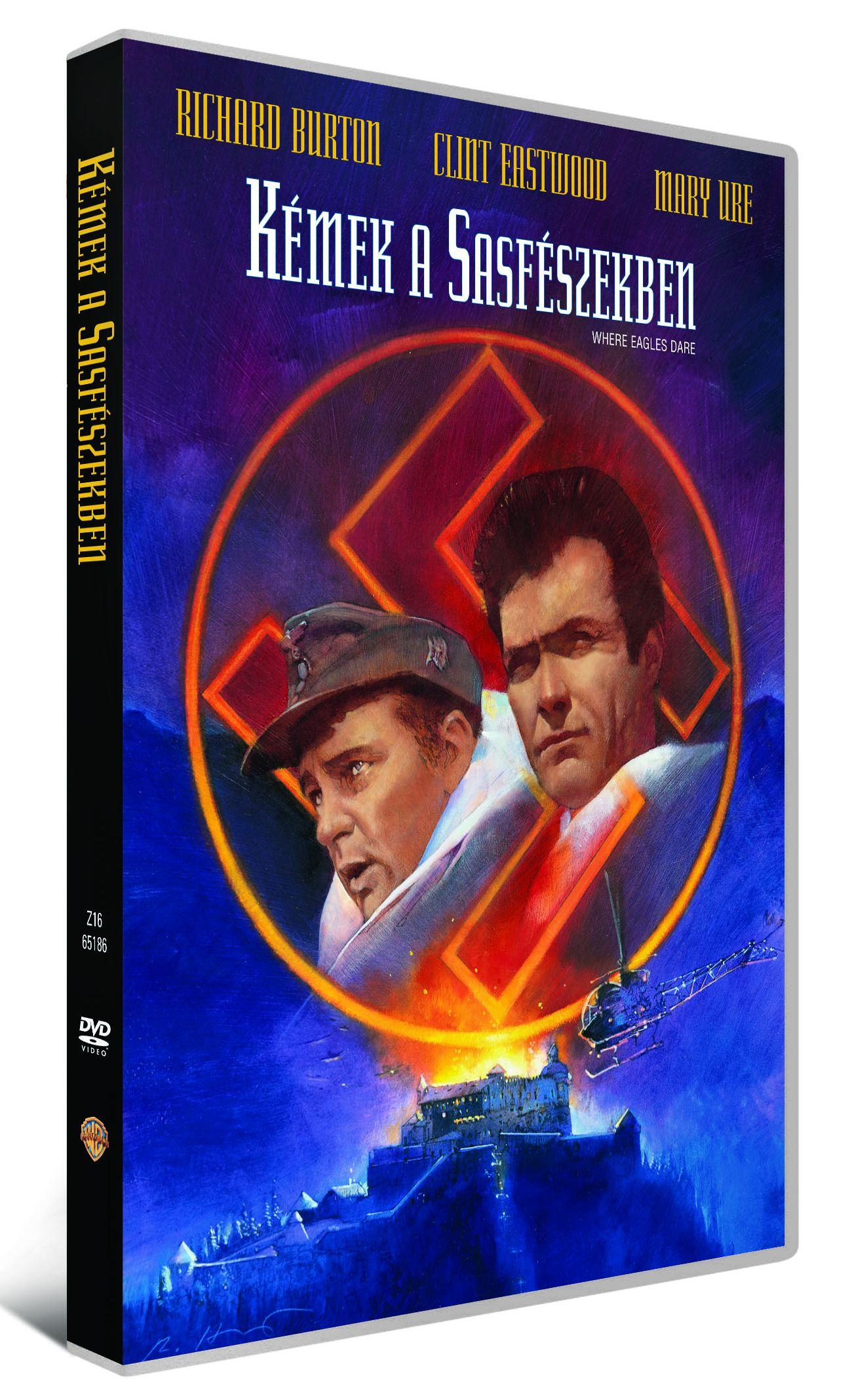 Kémek a sasfészekben DVD