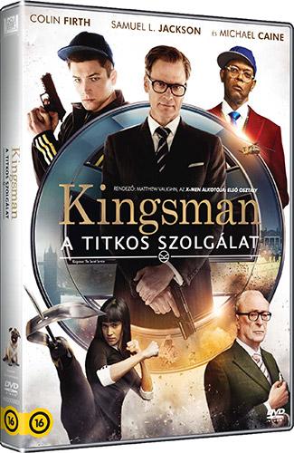 Kingsman: A titkos szolg�lat DVD