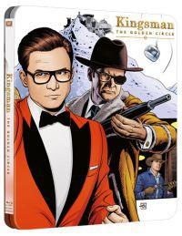 Kingsman: Az aranykör - limitált, fémdobozos változat (steelbook) Blu-ray
