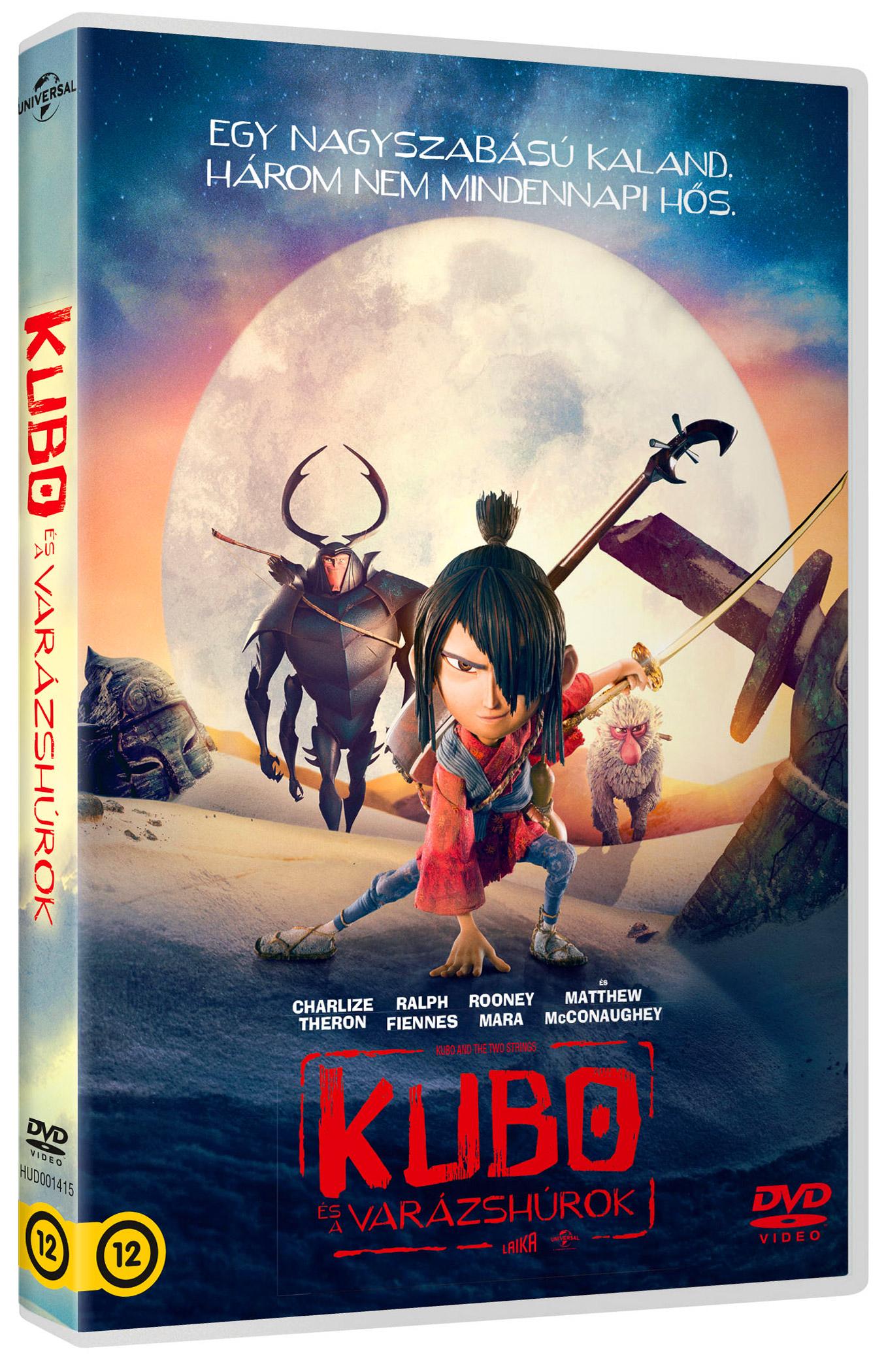 Kubo és a varázshúrok DVD