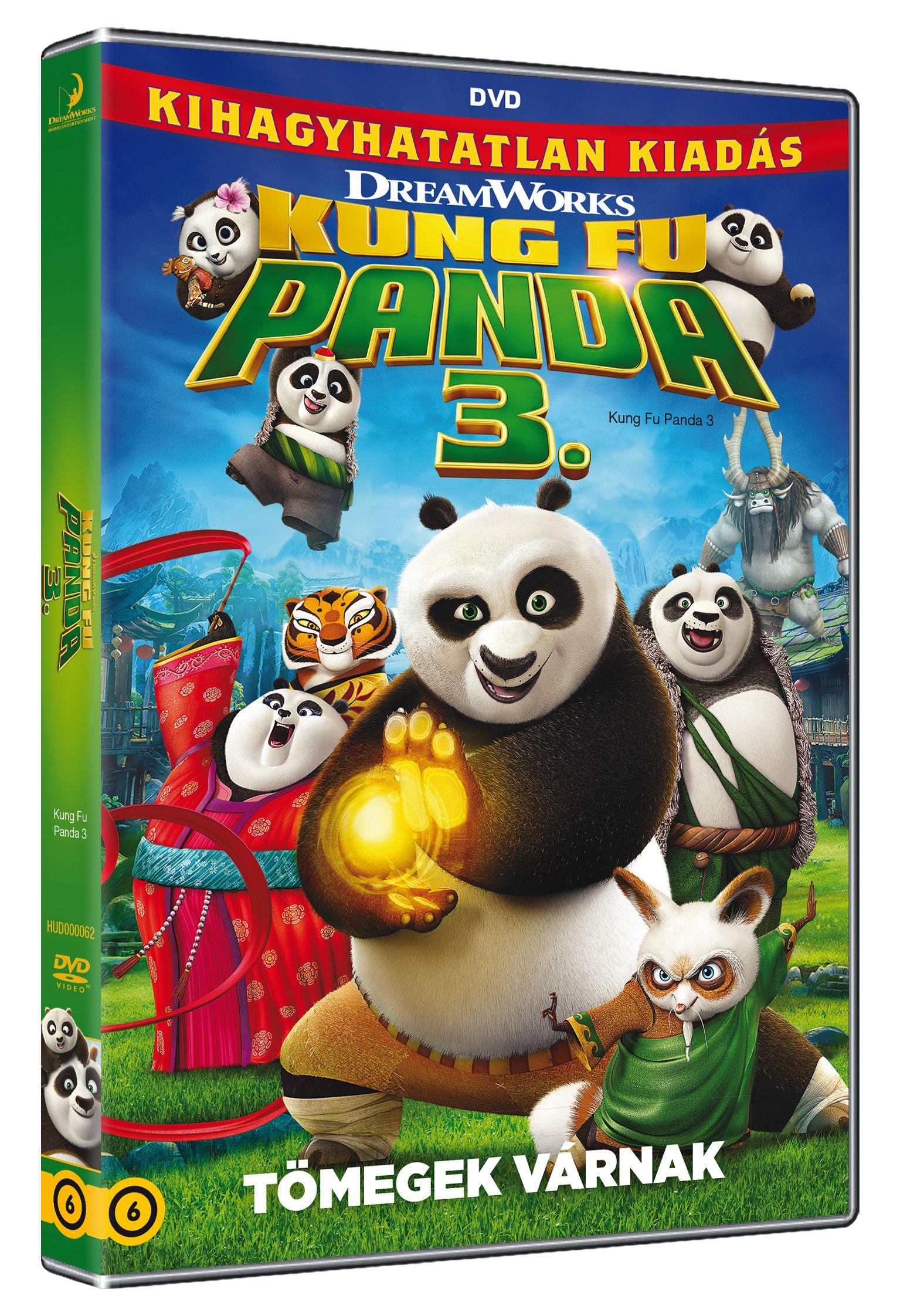 Kung Fu Panda 3. DVD