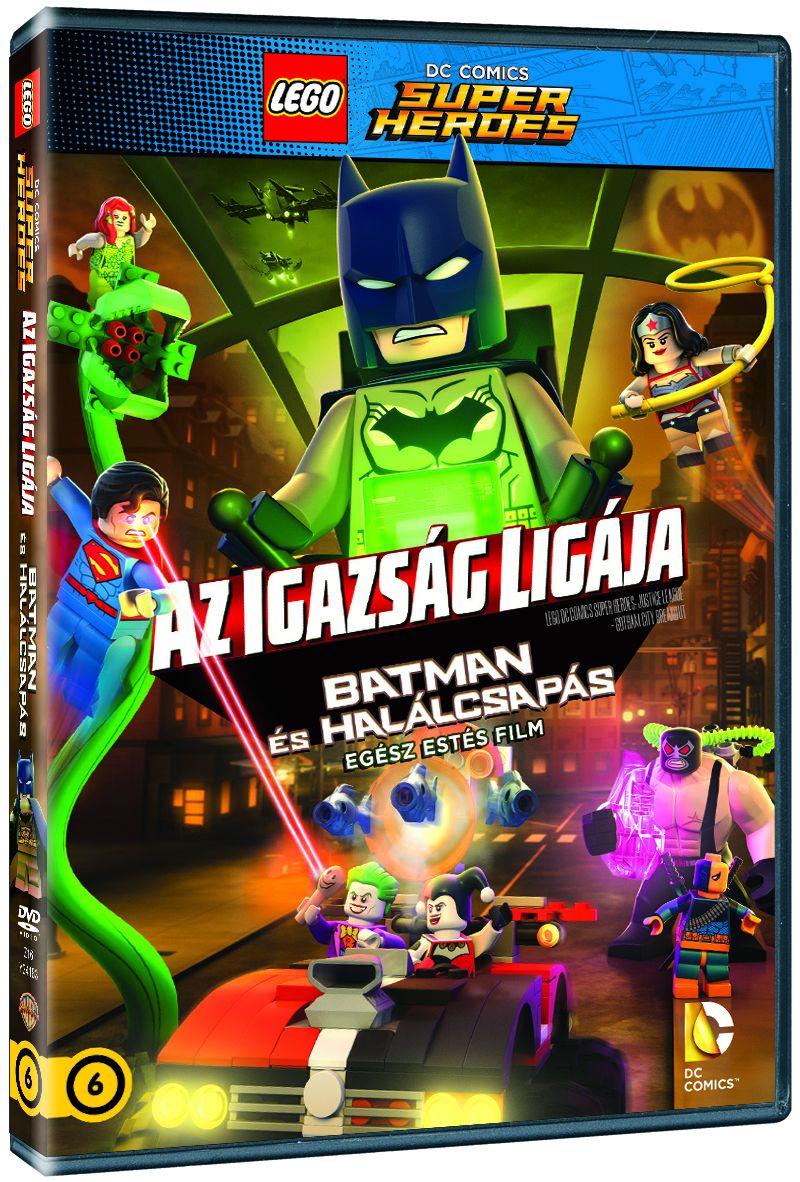 LEGO Az Igazs�g Lig�ja - Batman �s Hal�lcsap�s DVD