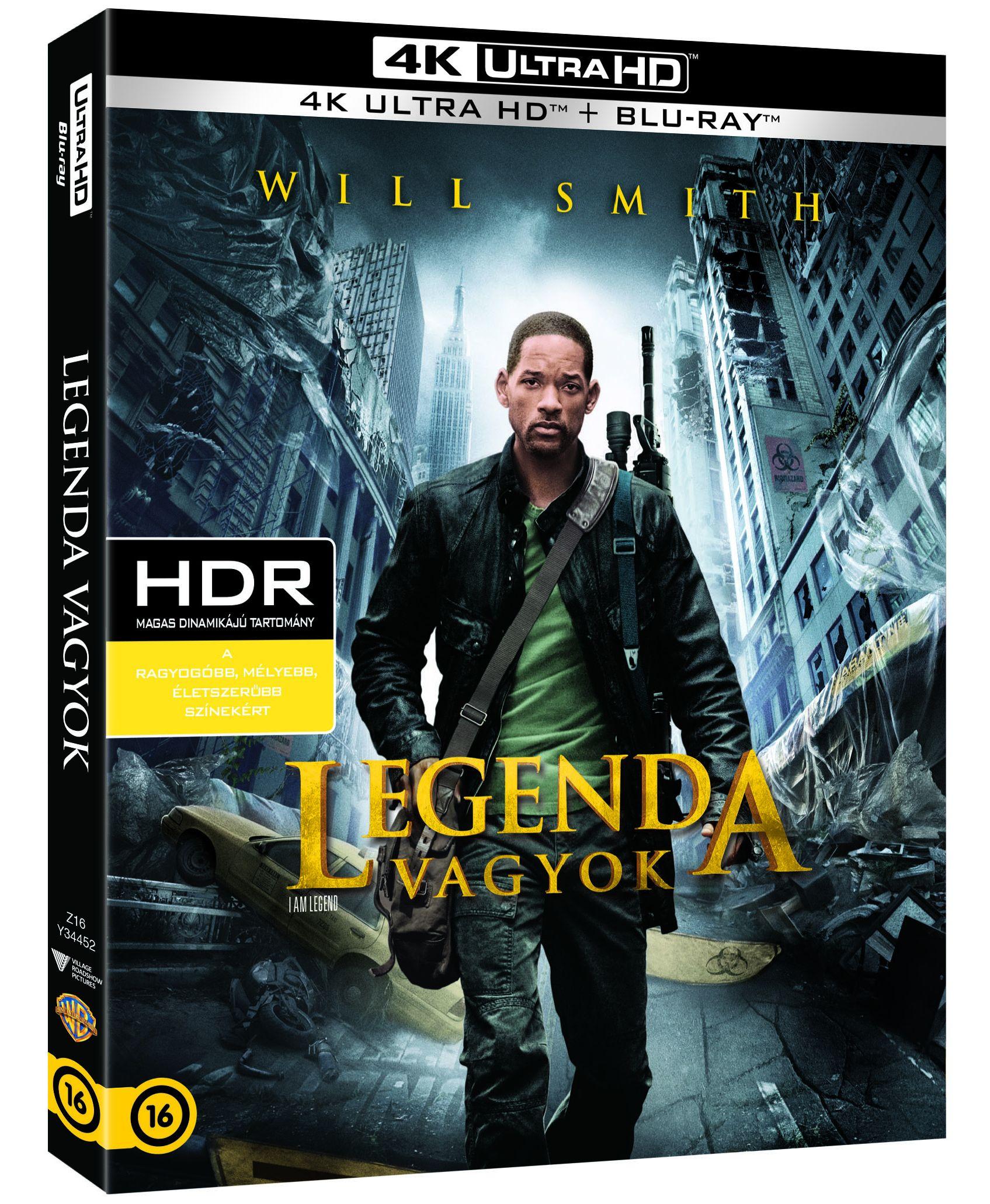 Legenda vagyok (4K Blu-ray + Blu-ray) Blu-ray
