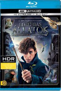 Legendás állatok és megfigyelésük (4K UHD Blu-ray + Blu-ray) Blu-ray
