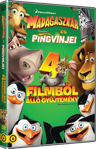 Madagaszk�r gy�jtem�ny (4 DVD) DVD