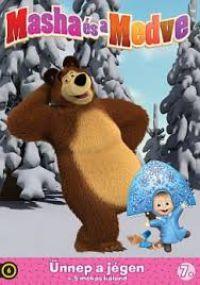 Mása és a Medve 7. - Ünnep a jégen + 5 mókás kaland  ( DVD) DVD