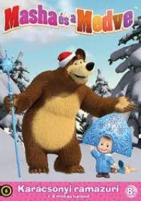 Mása és a Medve 8. - Karácsonyi ramazuri + 4 mókás kaland DVD