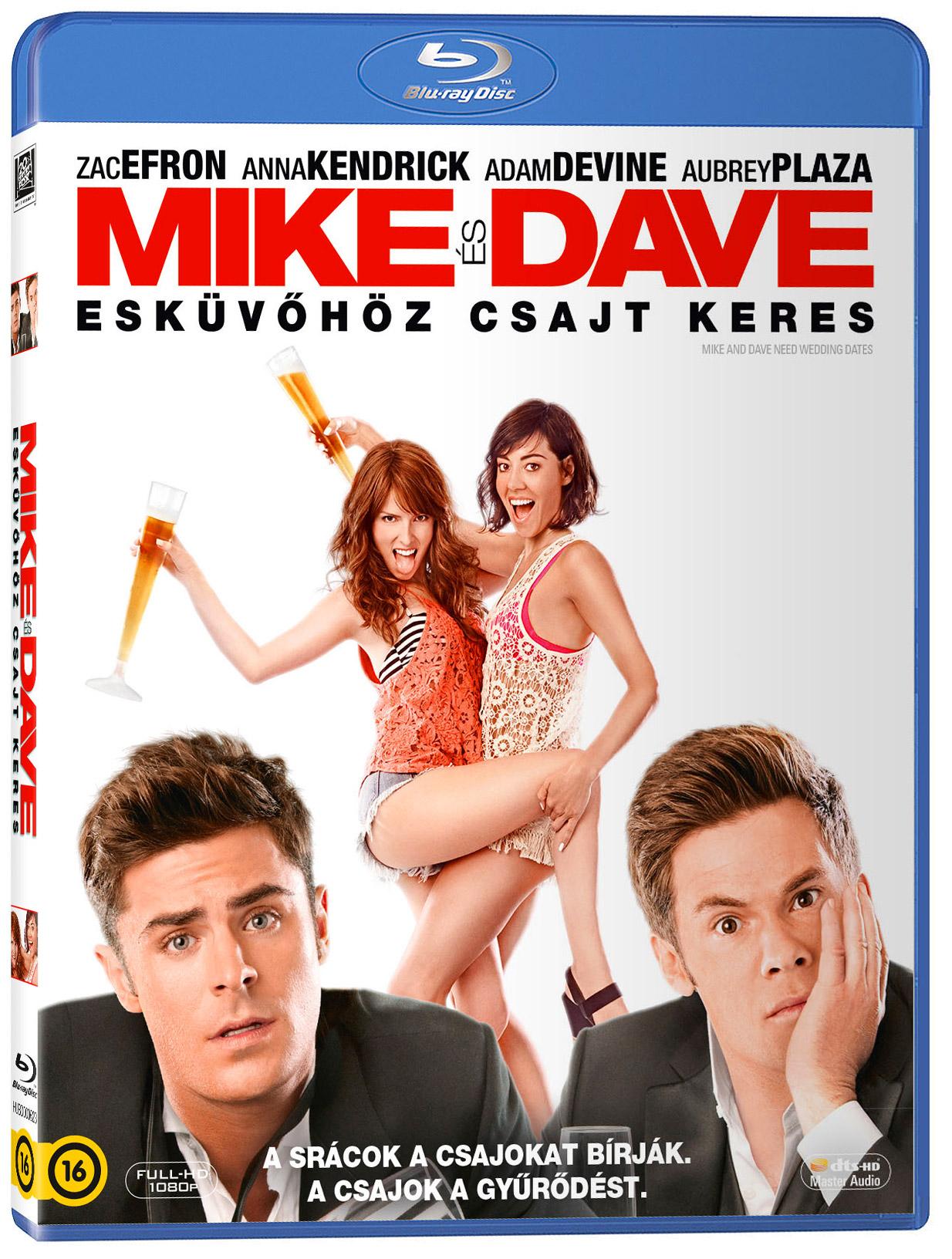 Mike és Dave esküvőhöz csajt keres Blu-ray