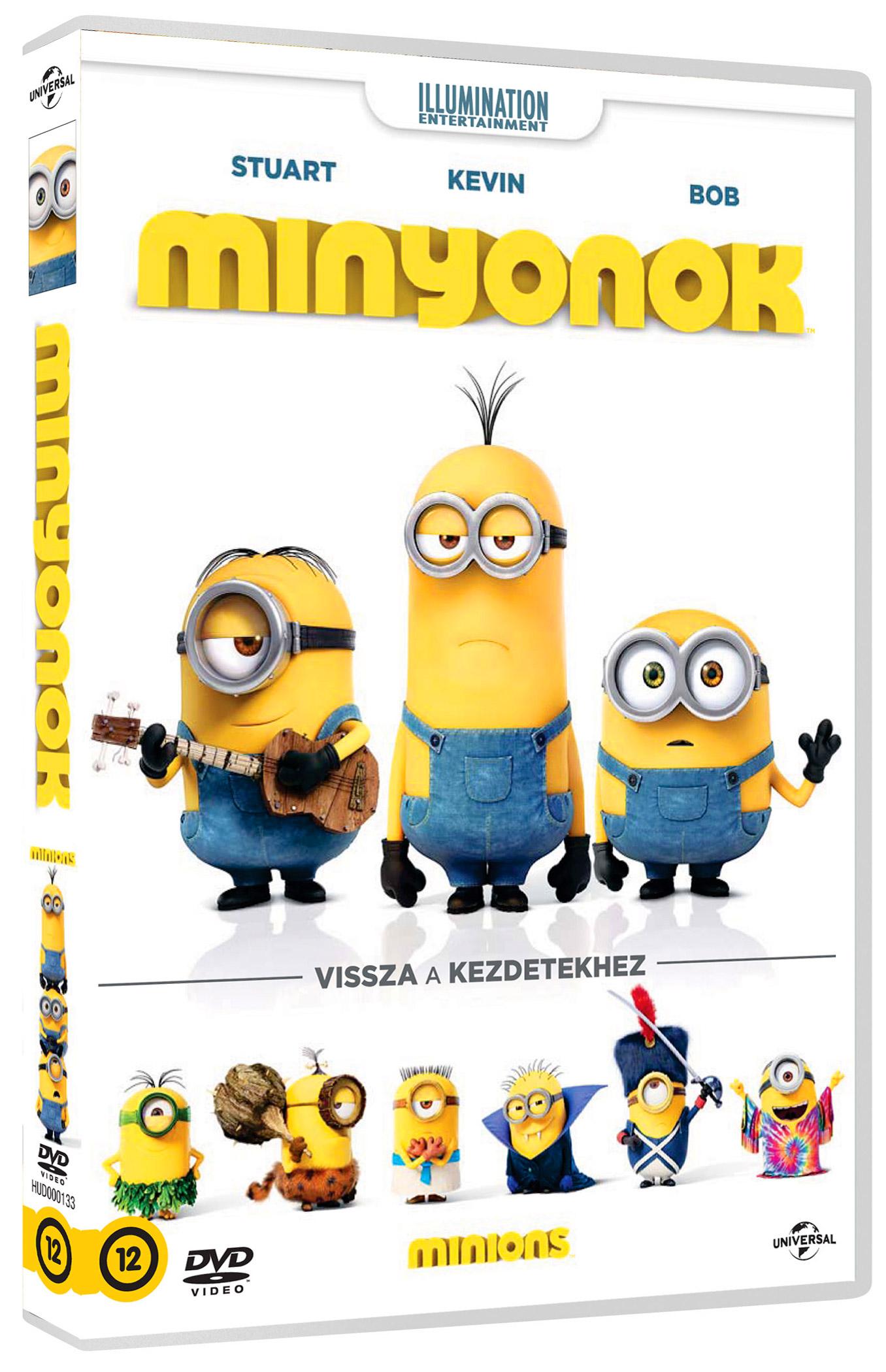 Minyonok DVD