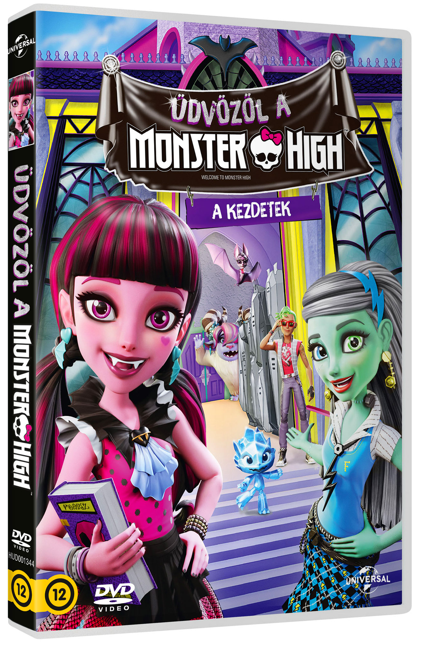Monster High: Üdvözöl a Monster High DVD