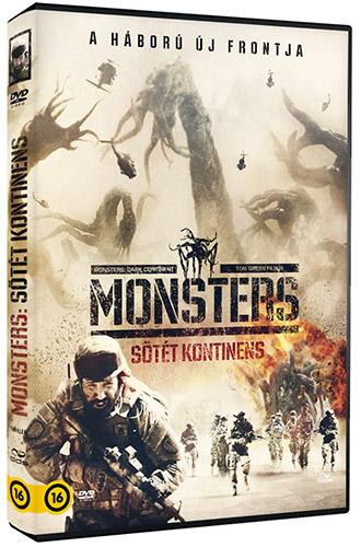 Monsters - S�t�t kontinens DVD