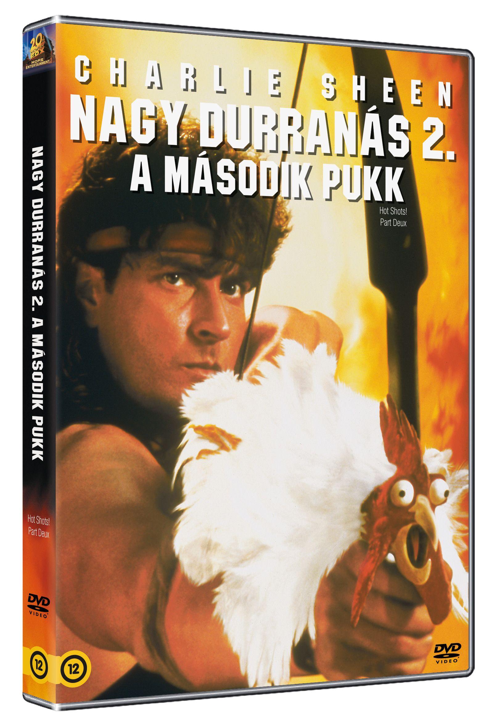 Nagy durranás 2. - A második pukk DVD