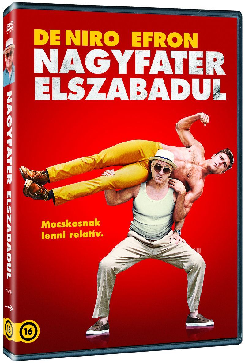 Nagyfater elszabadul DVD
