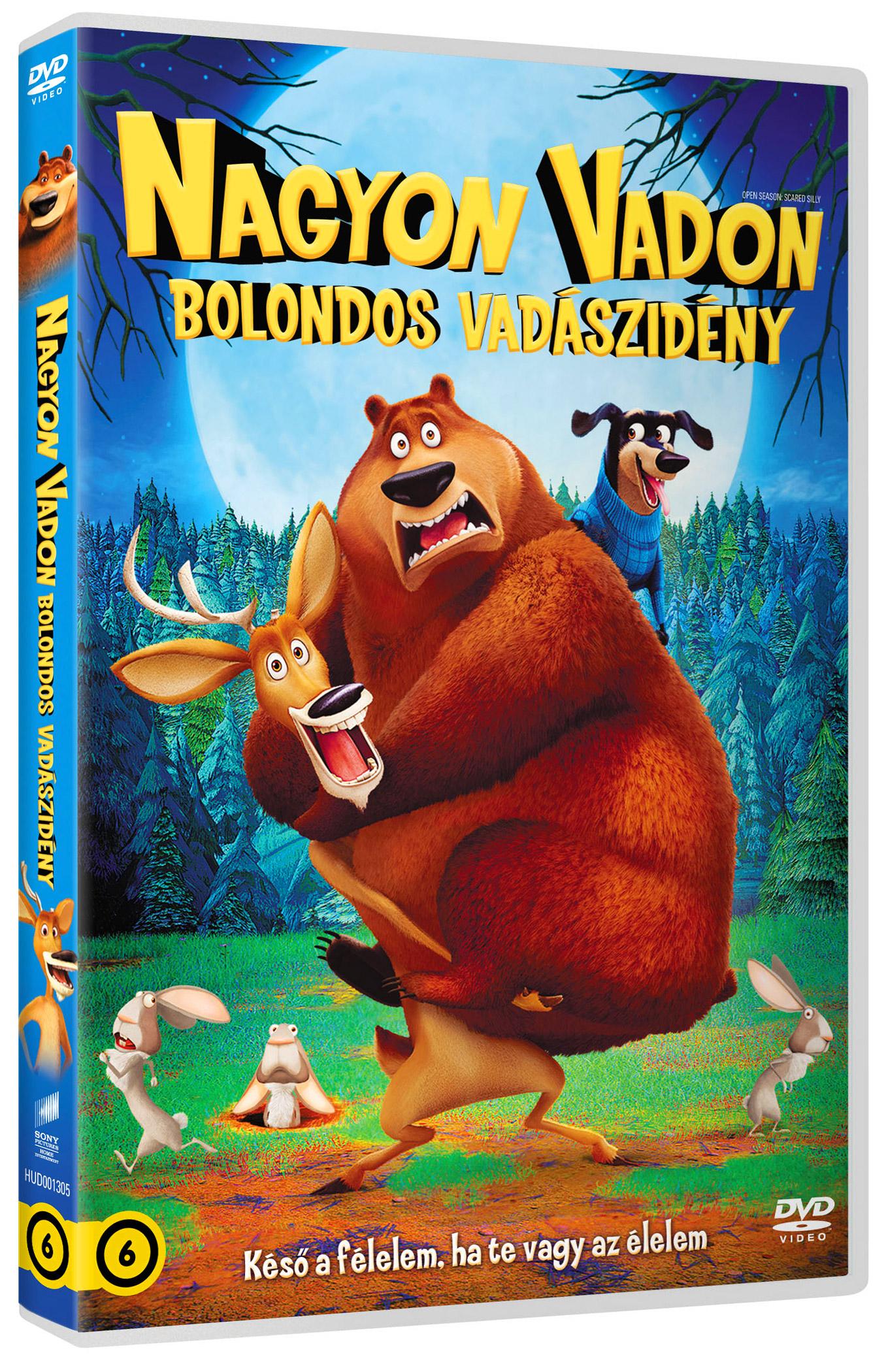 Nagyon vadon - Bolondos vad�szid�ny DVD