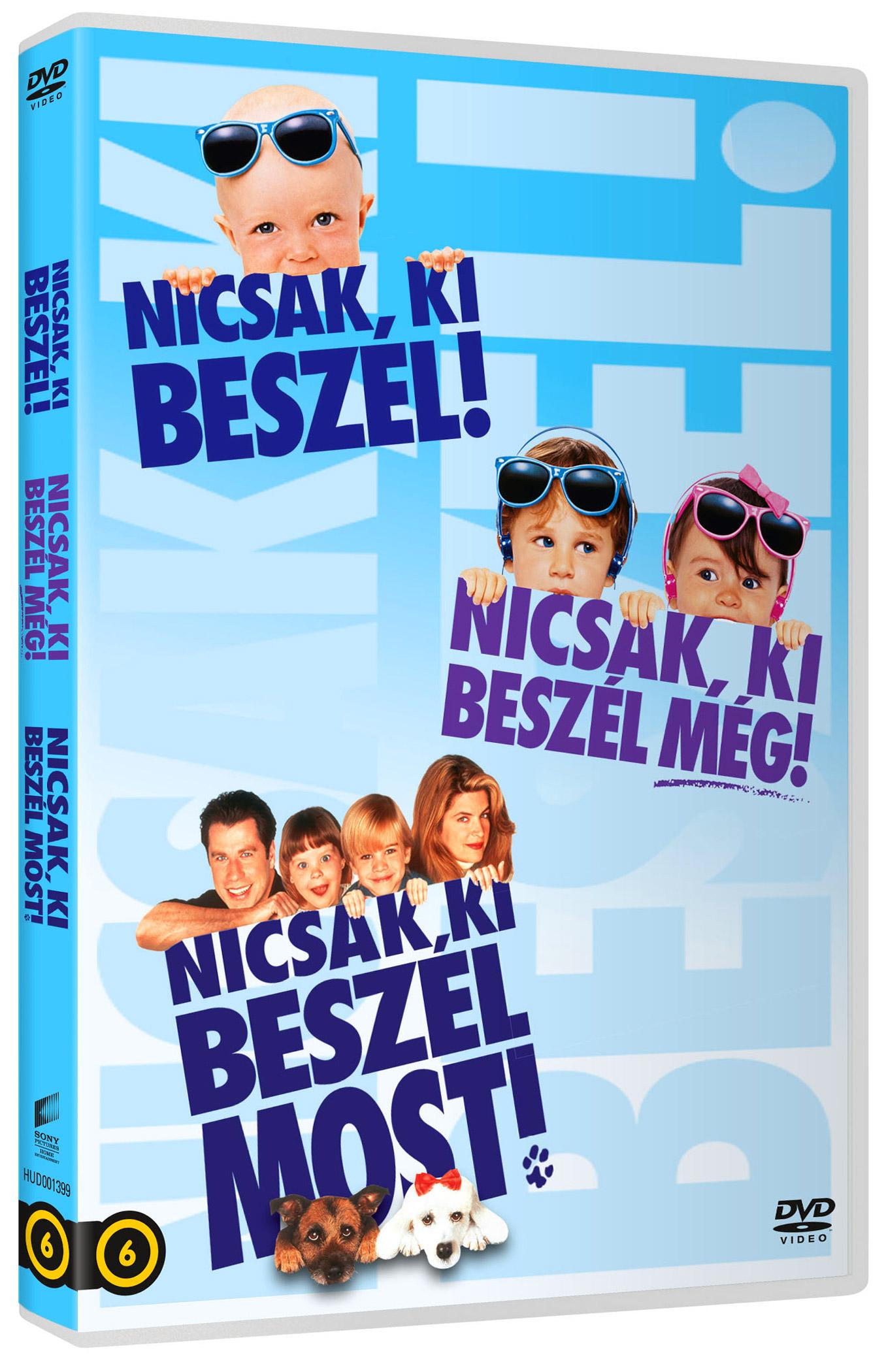 Nicsak, ki beszél trilógia díszdoboz (3 DVD) DVD