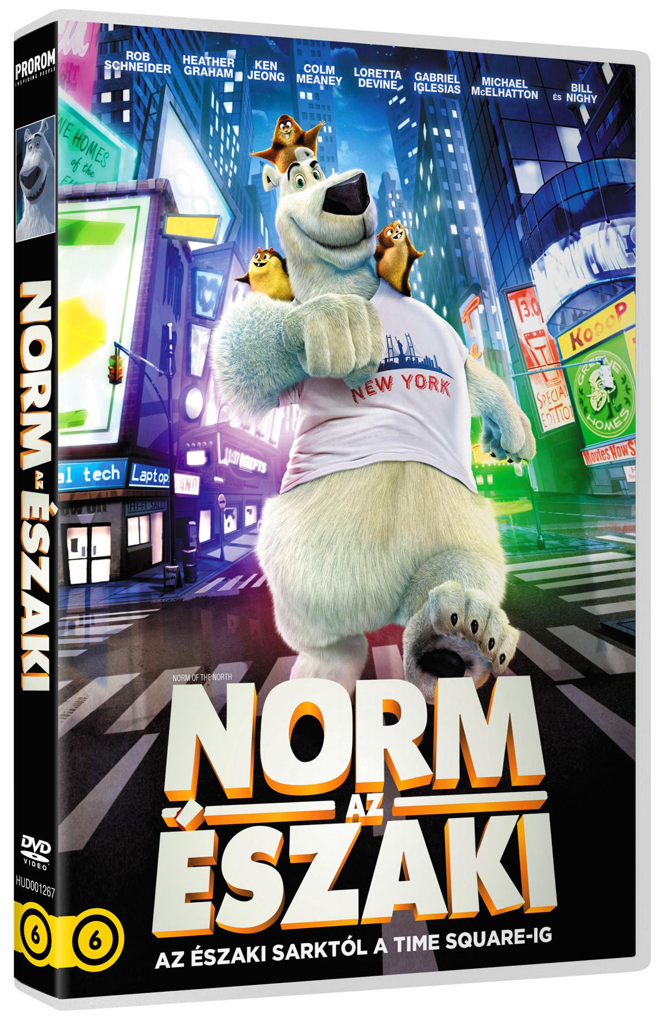 Norm, az �szaki DVD