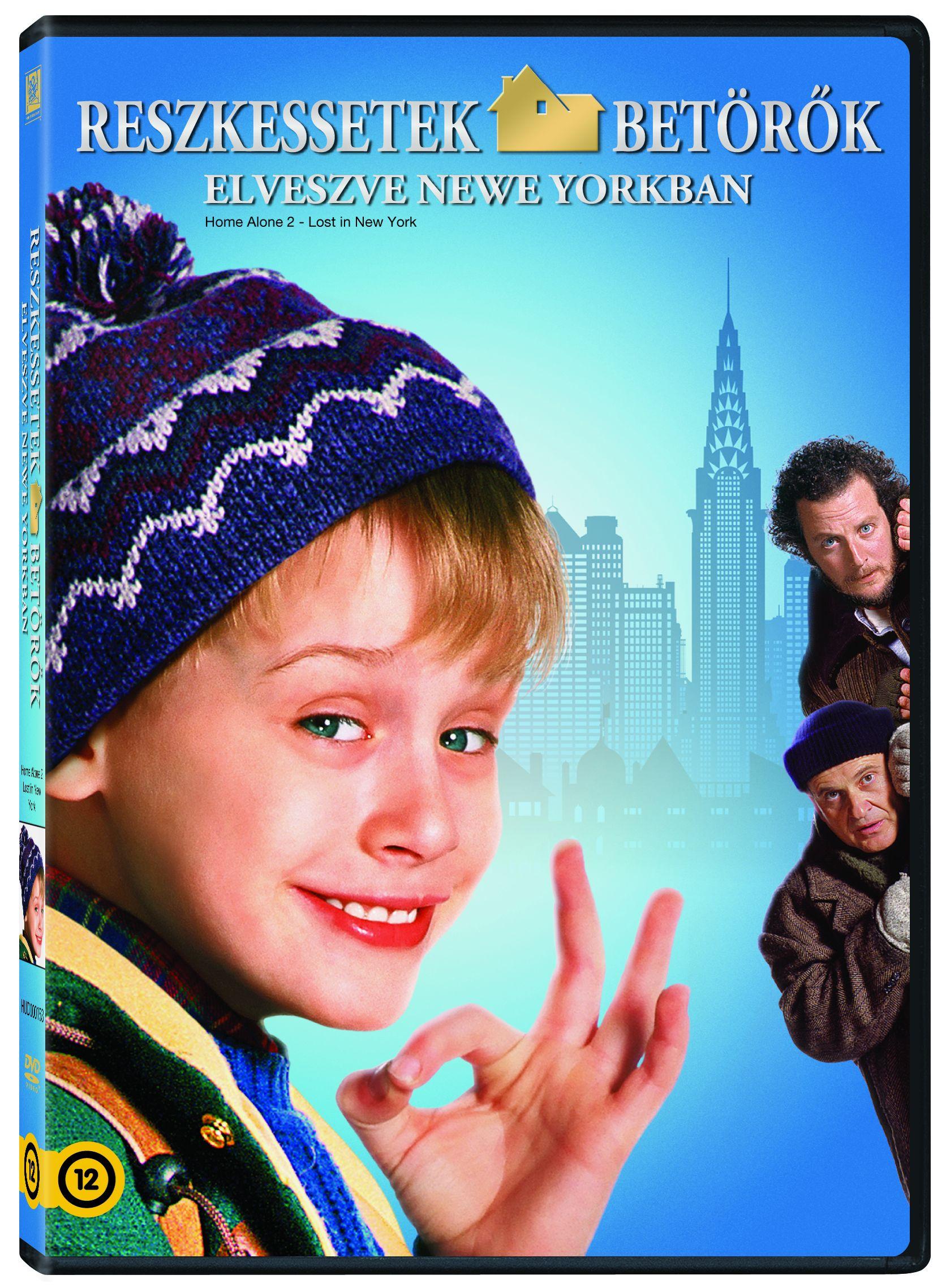 Reszkessetek, bet�r�k! 2. - Elveszve New Yorkban DVD
