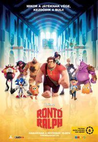 Rontó Ralph 2D és 3D Blu-ray