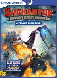 Sárkányok: A Hibbant-sziget - A teljes első évad (4 DVD) DVD
