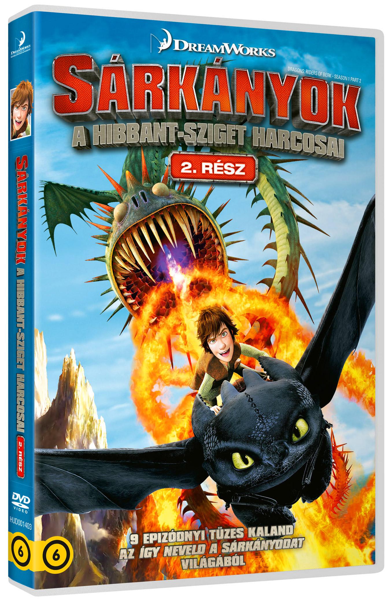 Sárkányok: A Hibbant-sziget harcosai - 2. rész (2 DVD) DVD