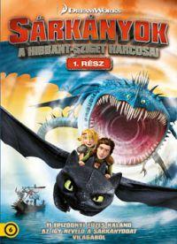 Sárkányok: A Hibbant-sziget harcosai - Első rész (2 DVD) DVD