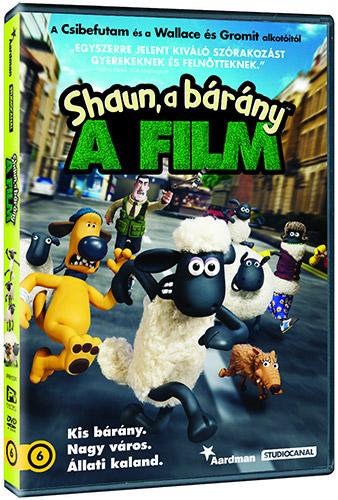 Shaun, a b�r�ny - a film DVD
