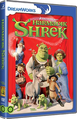 Shrek 3. - Harmadik Shrek DVD