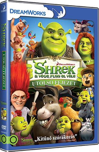 Shrek 4. - Shrek a v�ge, fuss el v�le: Utols� fejezet DVD