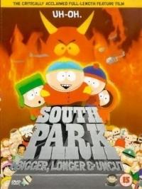 South Park - Nagyobb, hosszabb és vágatlan DVD