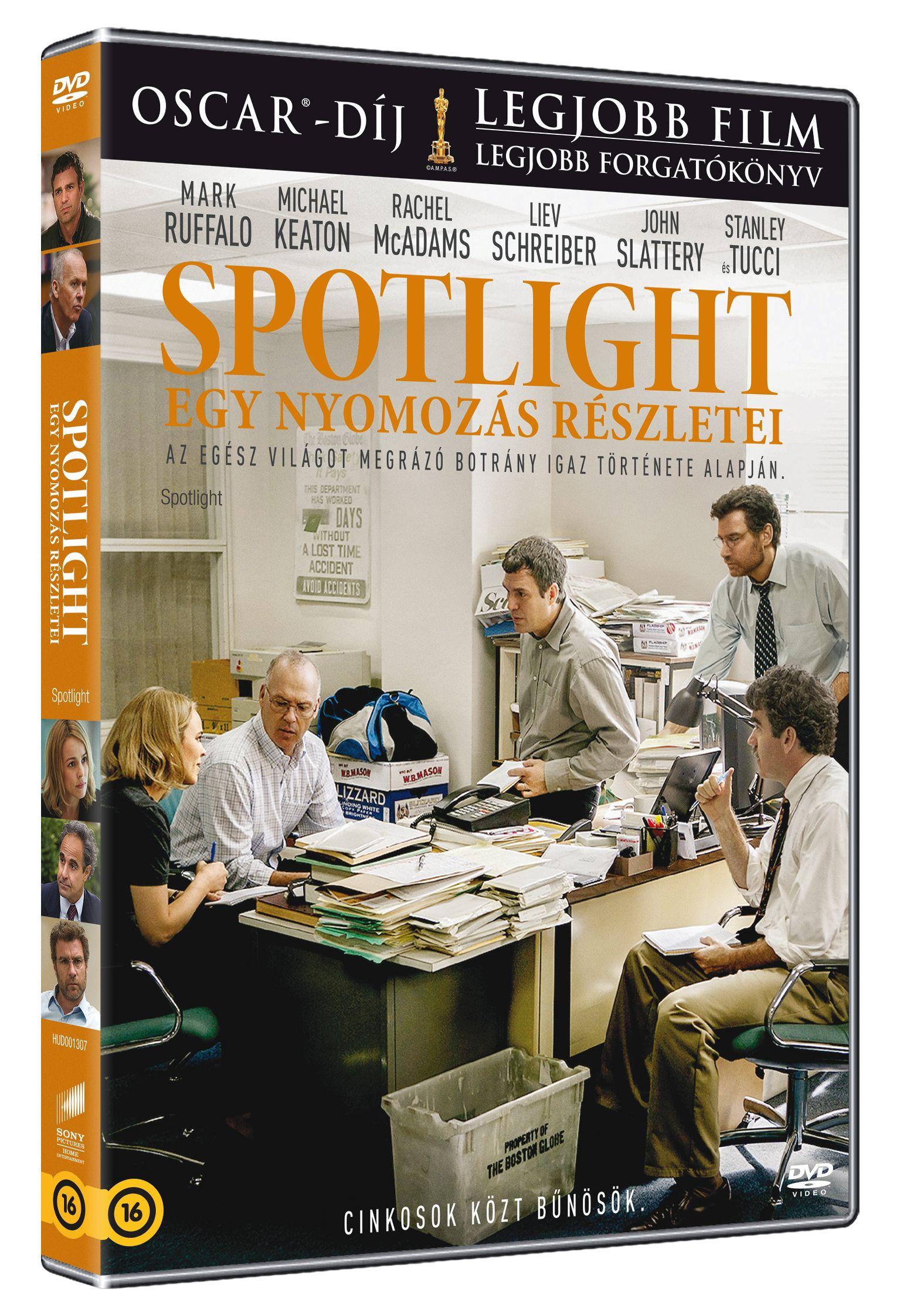 Spotlight: Egy nyomoz�s r�szletei DVD