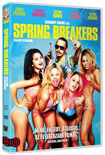 Spring Breakers: Csajok szabadon DVD