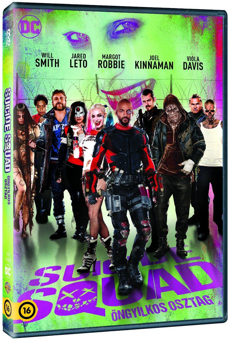 Suicide Squad - Öngyilkos osztag DVD