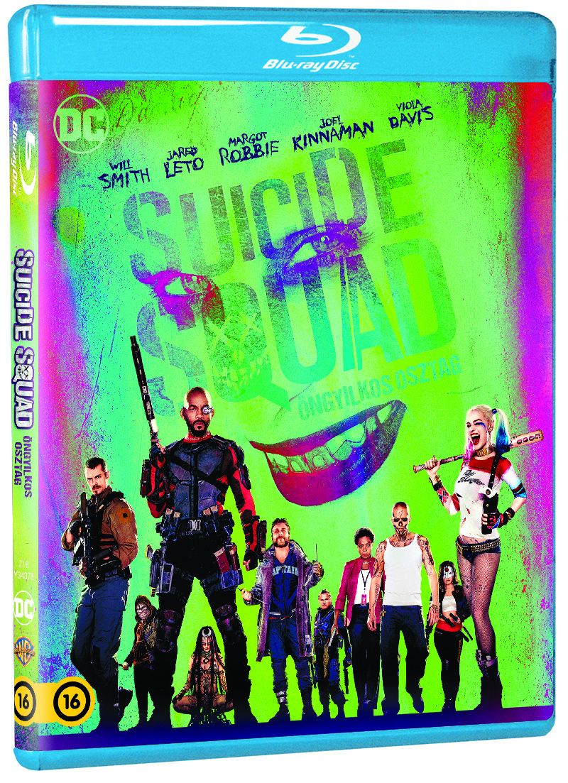 Suicide Squad - Öngyilkos osztag Blu-ray