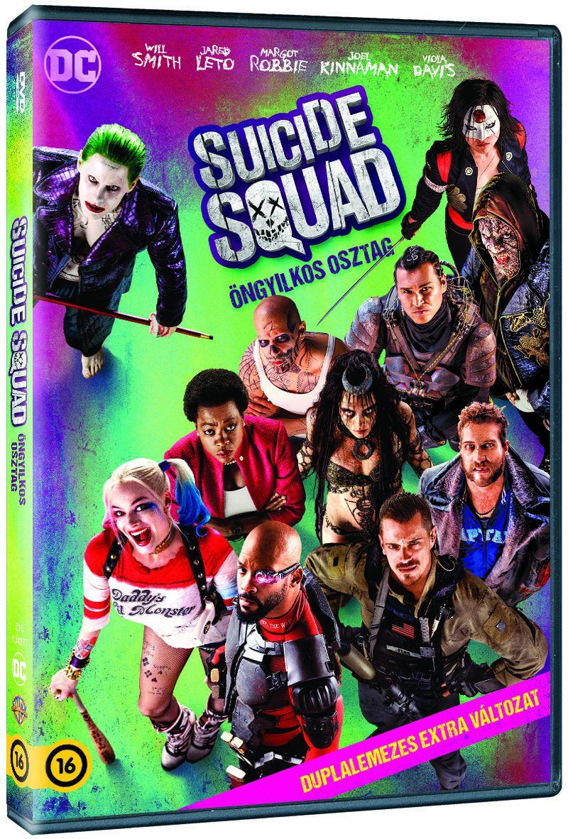 Suicide Squad - Öngyilkos osztag (2 DVD) DVD