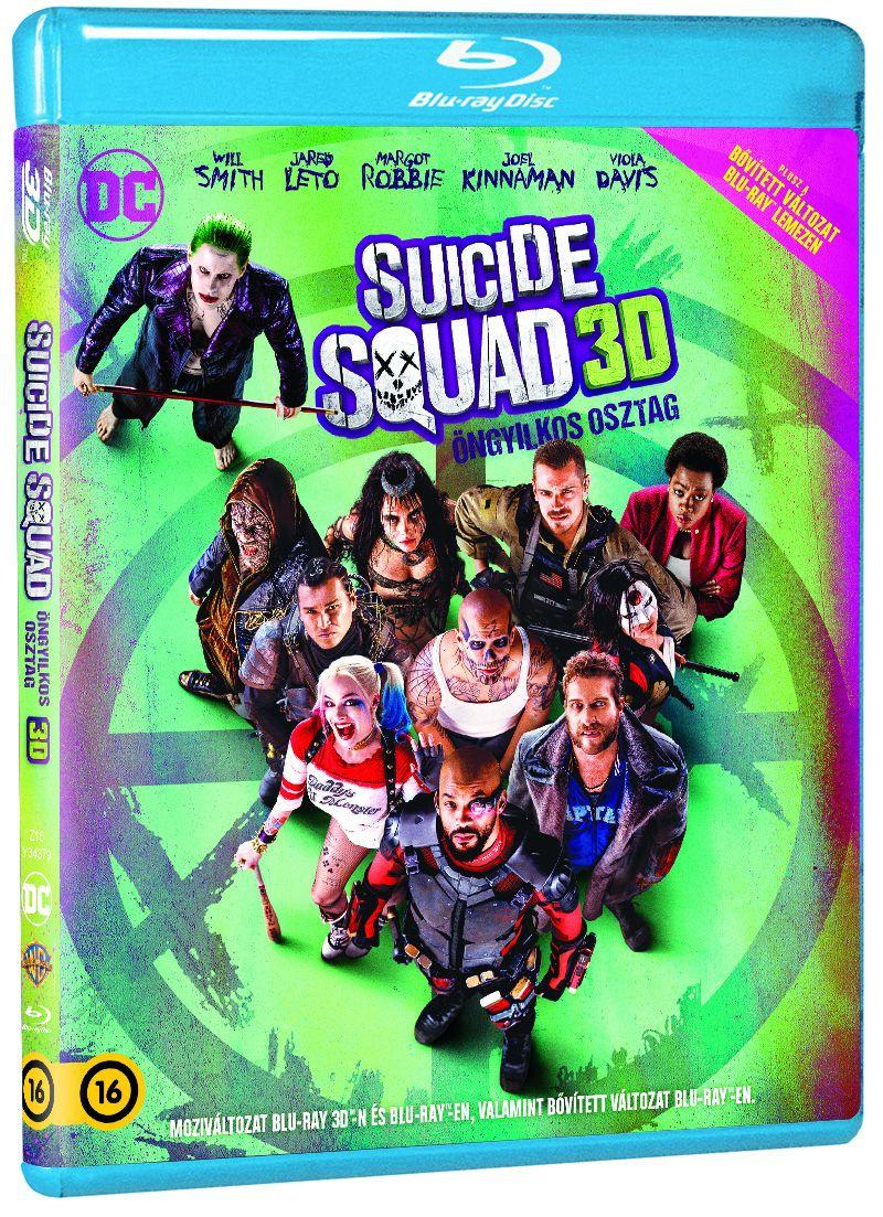 Suicide Squad - Öngyilkos osztag  - Bővített kiadás 2D és 3D Blu-ray