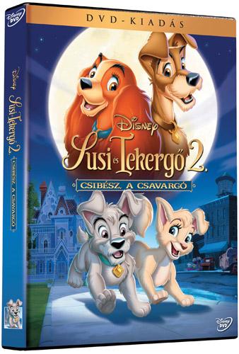 Susi �s Tekerg� 2. - Csib�sz, a csavarg� DVD