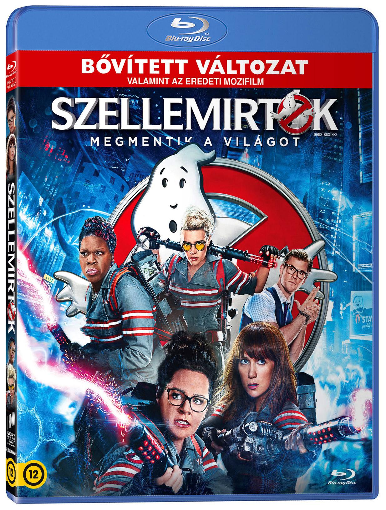 Szellemirtók - 2016 - Bővített változat Blu-ray