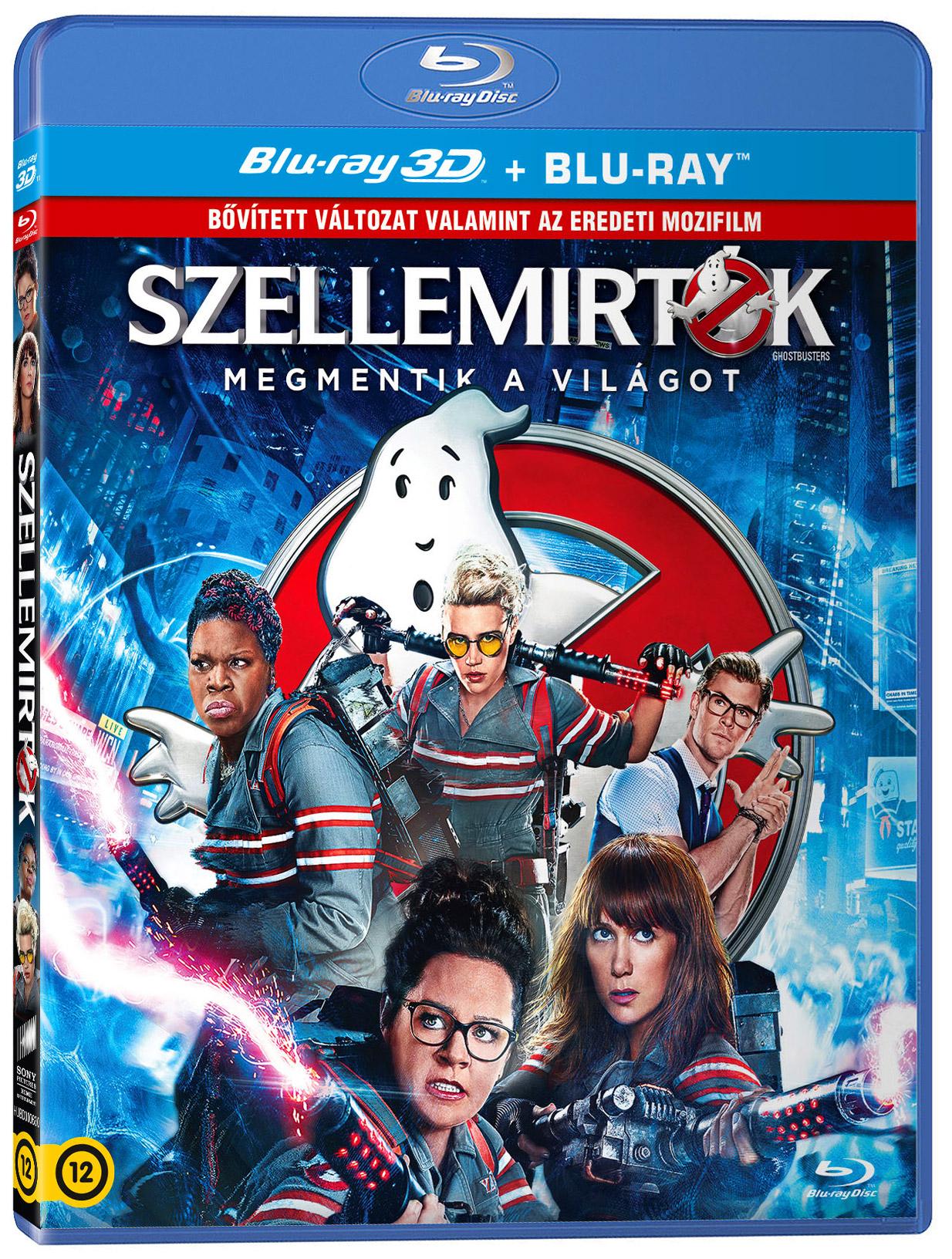Szellemirtók  - Bővített változat 2D és 3D Blu-ray