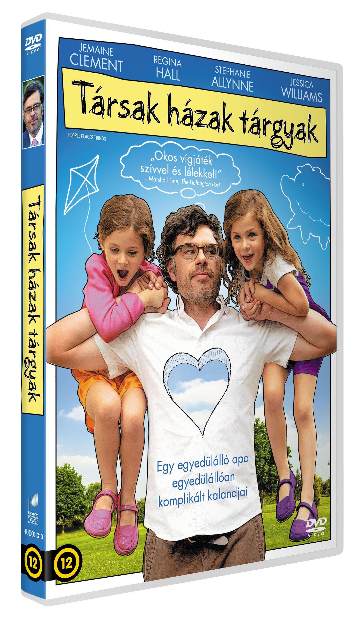T�rsak, h�zak, t�rgyak DVD
