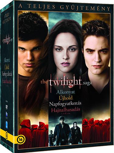 The Twilight Saga - Alkonyat - A teljes gy�jtem�ny (5 DVD) DVD