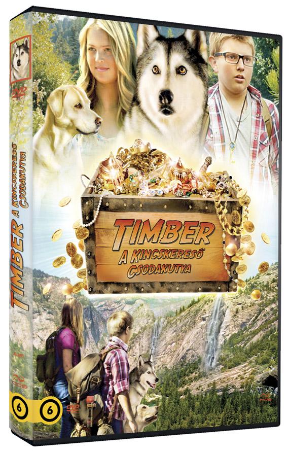 Timber, a kincskeres� csodakutya DVD